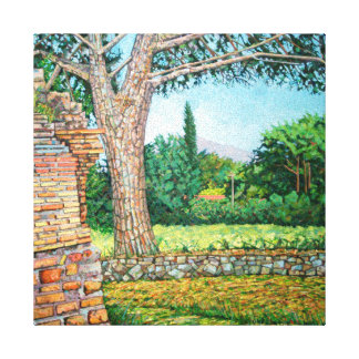 Appia Antica View 2008 Gallery Wrapped Canvas