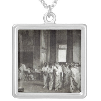 Appius Claudius Silver Plated Necklace