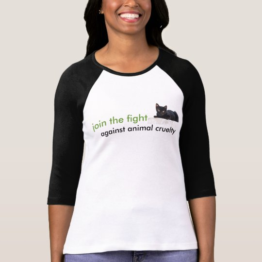 "Applaud ""Join the Fight"" baseball shirt"