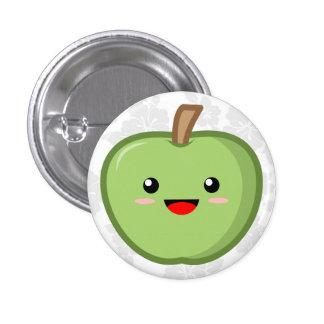 Apple 3 Cm Round Badge