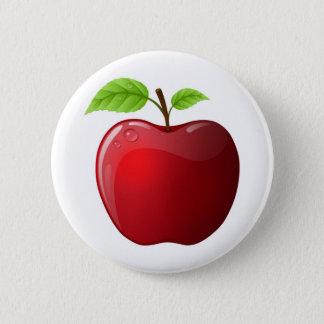 apple 6 cm round badge