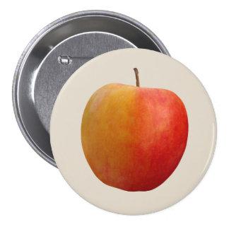Apple 7.5 Cm Round Badge