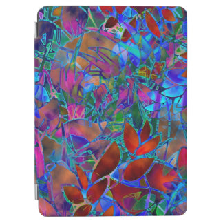 "Apple 9.7"" iPad Pro Cover Floral Stained Glass"
