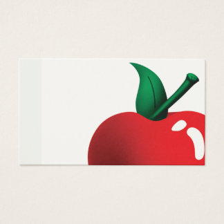 apple a day business card