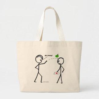 Apple a Day Jumbo Tote Bag