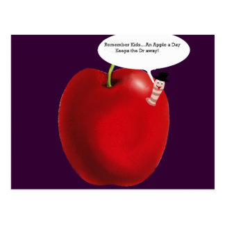 Apple A Day! Postcard