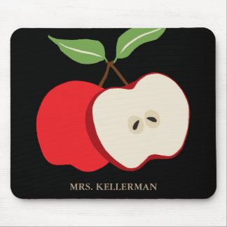 Apple Add Name Mouse Mat