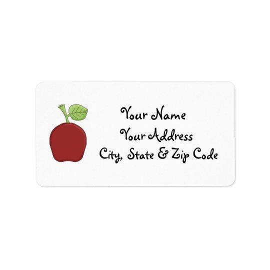 Apple address labels