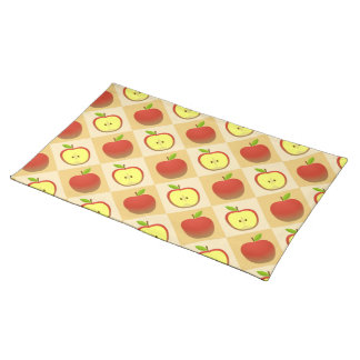 Apple and a Half pattern Placemat