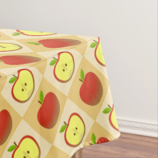 Apple and a Half pattern Tablecloth