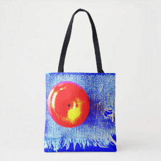 Apple and Blue Jeans Tote Bag