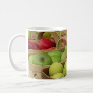 Apple Baskets at Market Classic White Coffee Mug