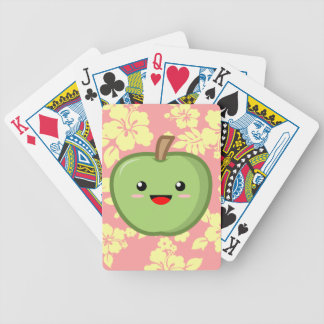 Apple Bicycle Playing Cards