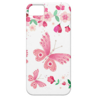 apple blossom butterflies iPhone 5 cover