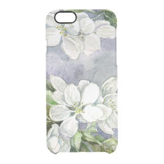 Apple blossom clear iPhone 6/6S case