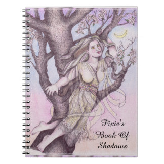 Apple Blossom Dryad Fairy Faerie BOS Grimoire Notebook
