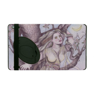 Apple Blossom Dryad Fairy Faerie Fantasy Myth Covers For iPad