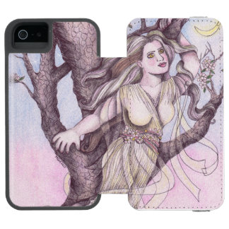 Apple Blossom Dryad Fairy Faerie Fantasy Myth Incipio Watson™ iPhone 5 Wallet Case