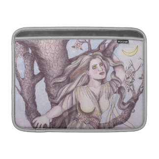 Apple Blossom Dryad Fairy Faerie Fantasy Myth MacBook Sleeve