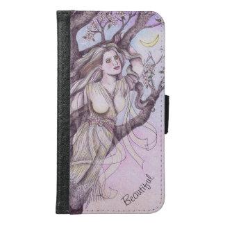 Apple Blossom Dryad Fairy Faerie Fantasy Myth Samsung Galaxy S6 Wallet Case