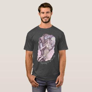 Apple Blossom Dryad Fairy Faerie Fantasy Myth T-Shirt