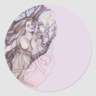 Apple Blossom Dryad Fairy Faerie Potion Herb Label