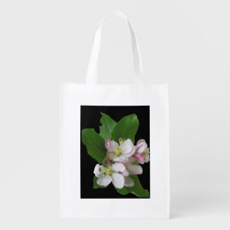 Apple Blossom Flowers  Small Tote Bag