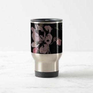 Apple Blossom in Ink Travel Mug