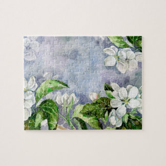Apple blossom jigsaw puzzle