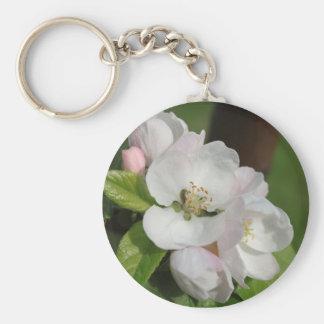 Apple Blossom Keychain