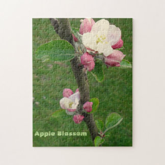 Apple Blossom-Photo Puzzle with Gift Box