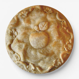Apple Blossom Pie 9 Inch Paper Plate