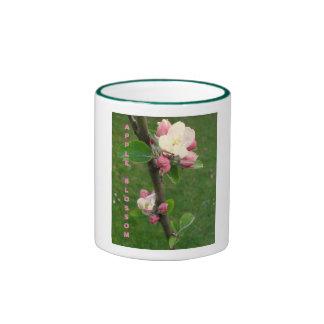 Apple Blossom Ringer Mug