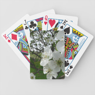 Apple Blossoms Bicycle Playing Cards