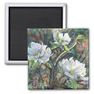 """Apple Blossoms"" Magnet"