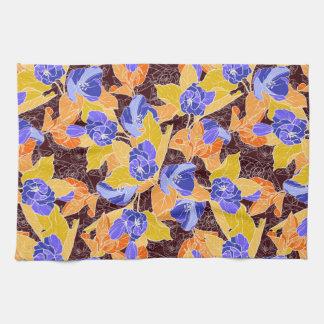 Apple Blossoms Pattern Tea Towel