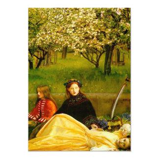 Apple Blossoms Spring Fine Art 13 Cm X 18 Cm Invitation Card