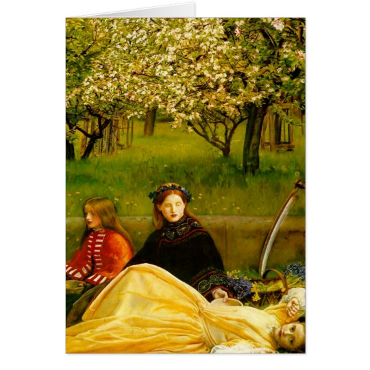 Apple Blossoms Spring Fine Art Card