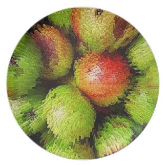 Apple burst plate
