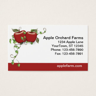 Apple Business Card Personalized