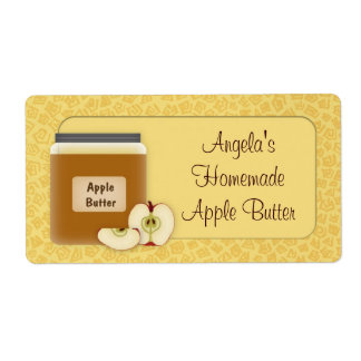 Apple Butter Label Shipping Label