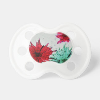 Apple cells micrograph seen through microscope baby pacifier