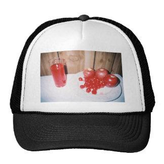 Apple Cherry Raspberry Hat