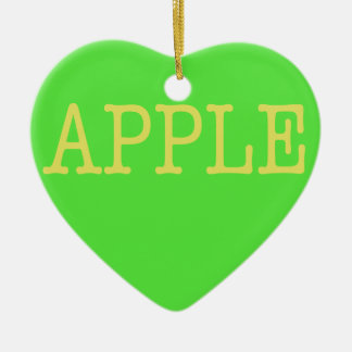 Apple Christmas Ornament