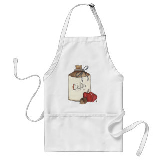 apple cider and apple picking standard apron