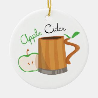 Apple Cider Christmas Ornament