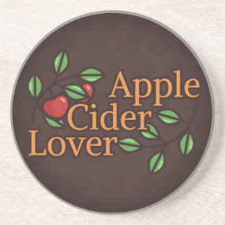 Apple Cider Lover Beverage Coasters