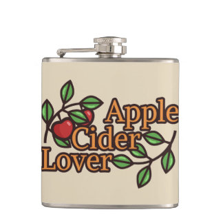 Apple Cider Lover Flasks
