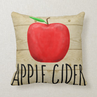 Apple Cider Red Apple Cushion