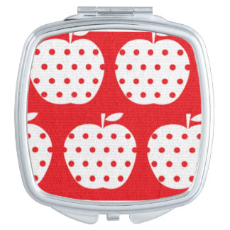 Apple compact mirror for makeup